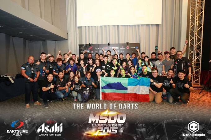 Part of the Sabah contingent of 49 darters.